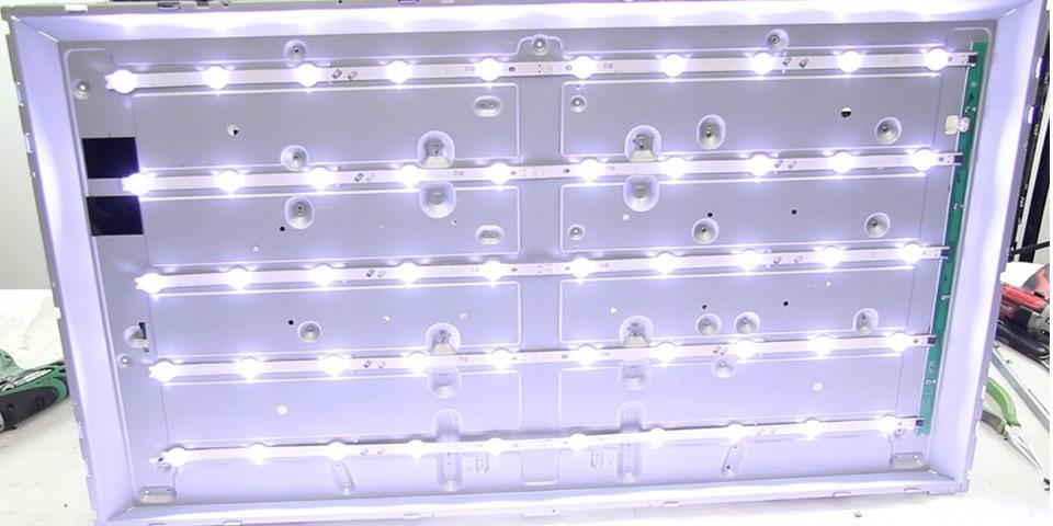 backlight tela LED