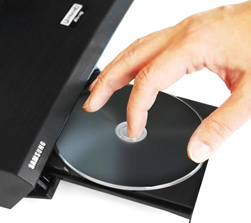 Blu ray não abre gaveta