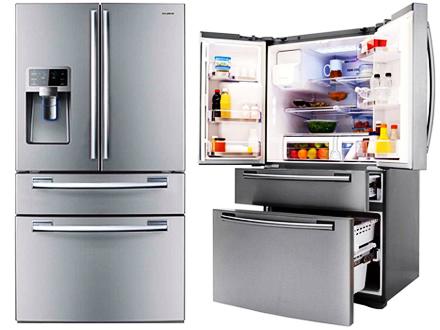 geladeira french doors
