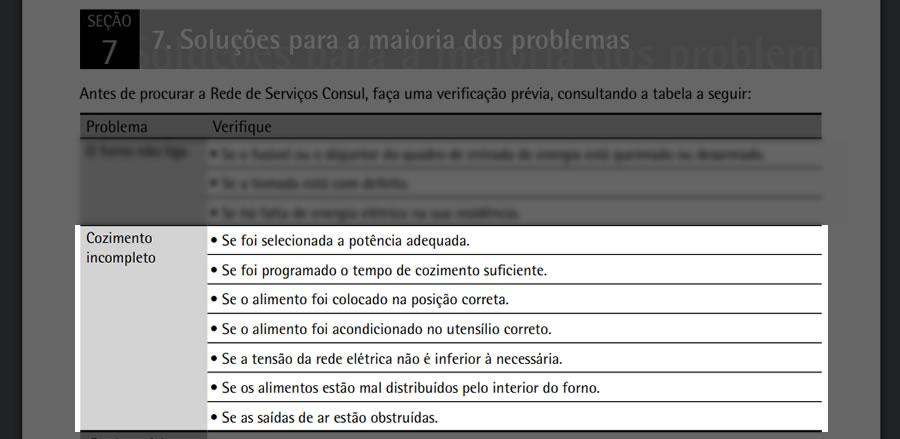 manual microondas consul facilite