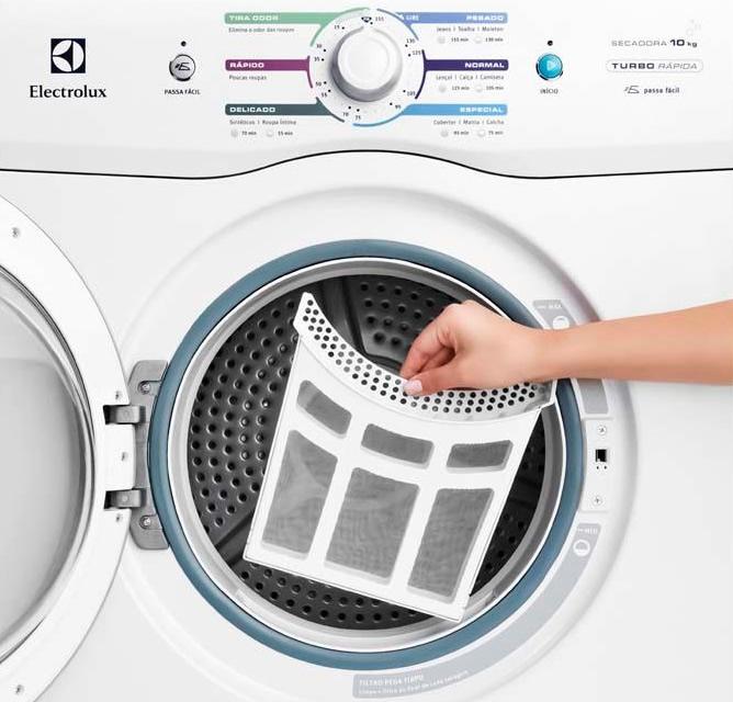 secadora Electrolux filtro