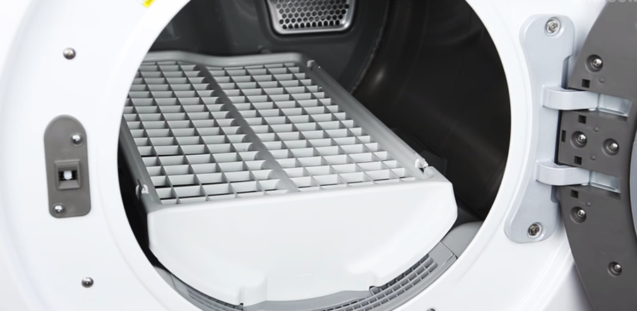 secadora samsung rack