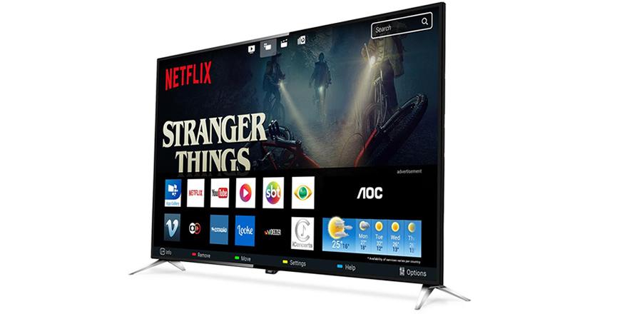 smart TV 4K Ultra HD AOC LED 43 polegadas LE43U7970