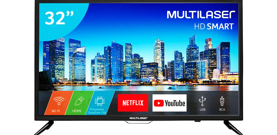 TV Multilaser smartTV