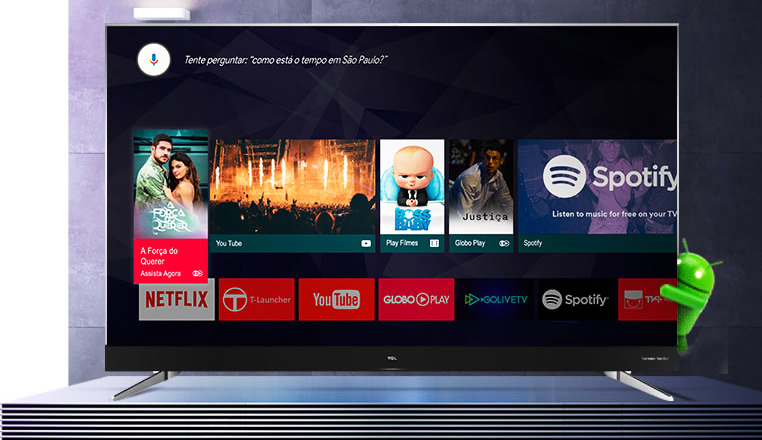 tv tcl android tv