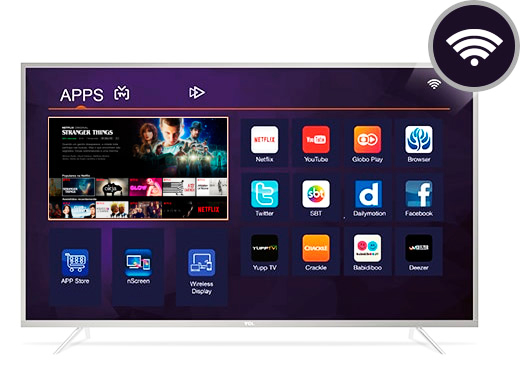 tv tcl smart system