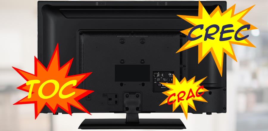 TV de LED estalando: O que pode ser?